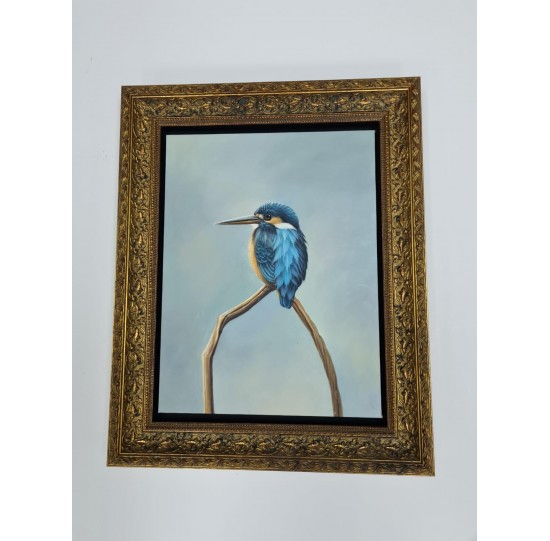 Framed Acrylic painting on canvas - 440 mm x 550 mm